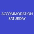 Conference Accommodation - SATURDAY