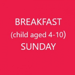 Conference Breakfast (Child age 4-10) - SUNDAY
