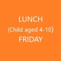Conference Lunch (Child age 4-10) - FRIDAY