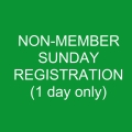 Non-Member SUNDAY Registration