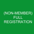 Full Conference Registration (Non Member)