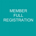 Full Conference Registration (Member)