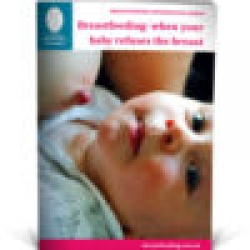 Breastfeeding: when your baby refuses the breast