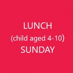 Conference Lunch (Child age 4-10) - SUNDAY