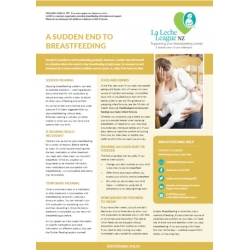 A Sudden End To Breastfeeding